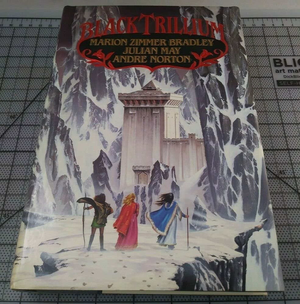 Black Trillium by Marion Zimmer Bradley. Hardcover 1st Edition 1990