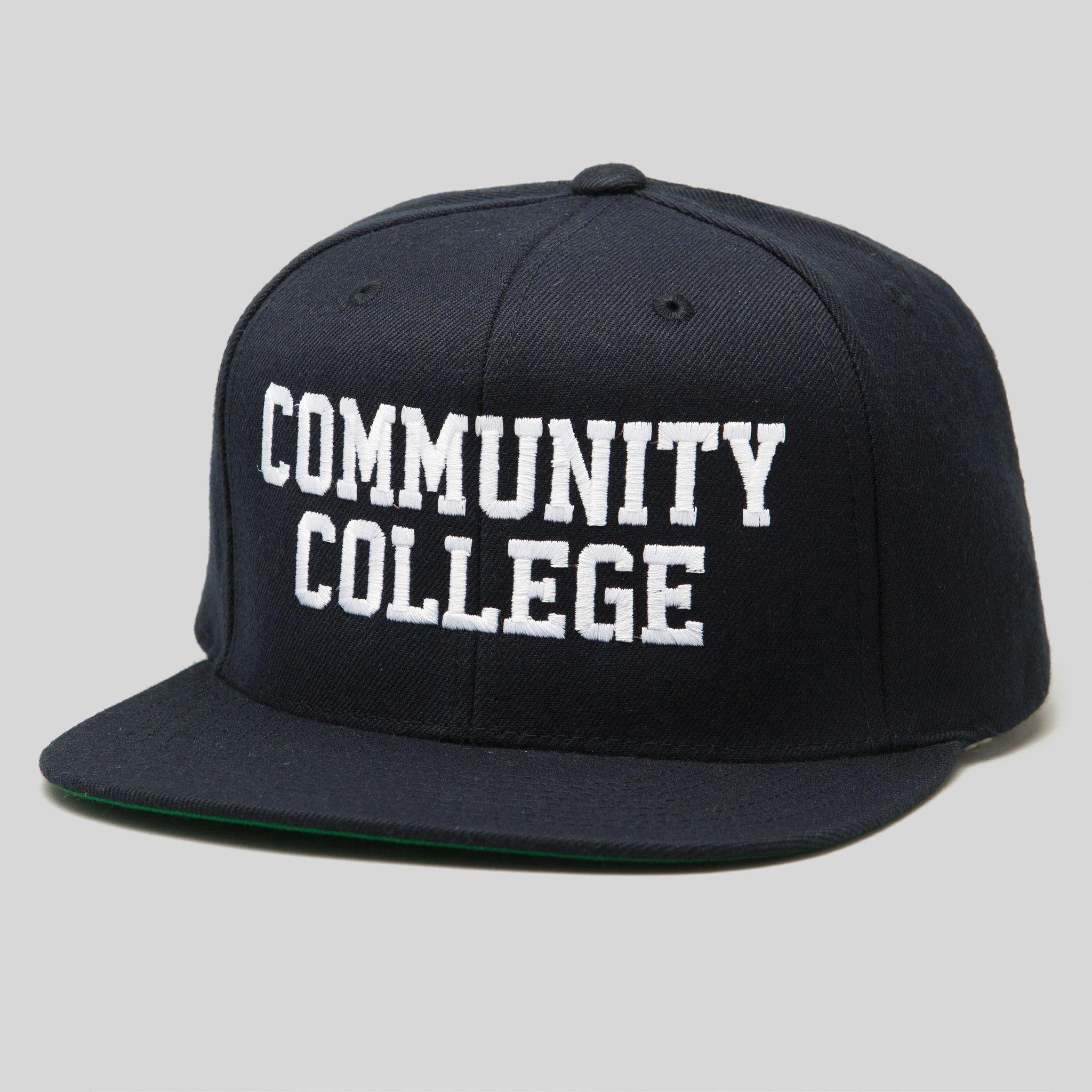 2f3e4c0459a Community College Snapback Cap