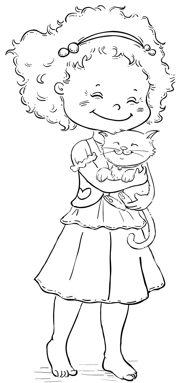 Janessa and kitty   job : veterinary,biology - veterinario, biologia ...