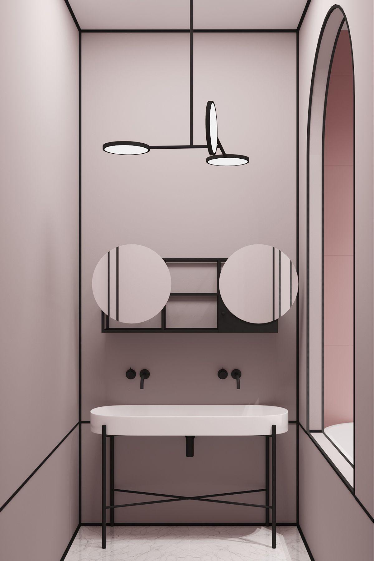 crosby studios projet parisian apartment perspective par vanessa millette