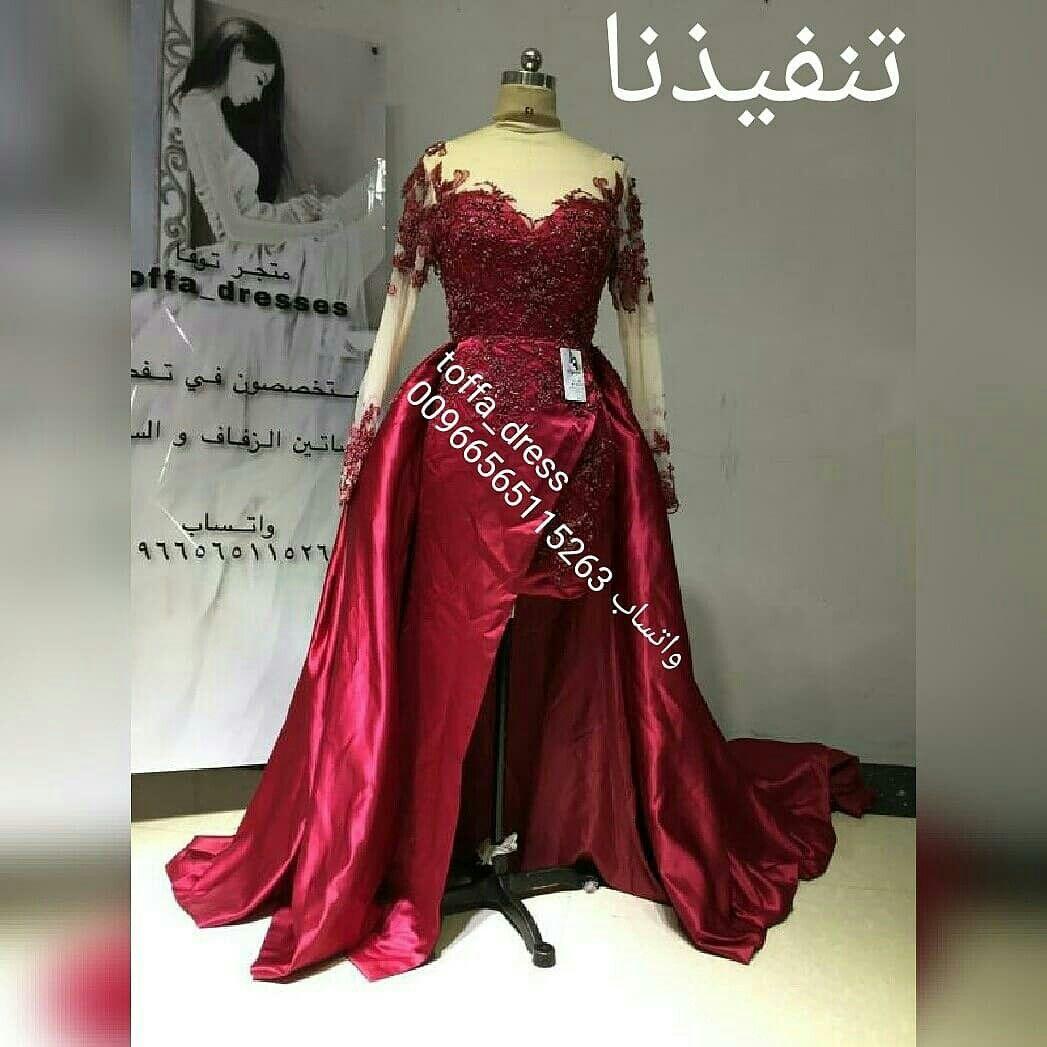 تفصيل اجمل فساتين الزفاف والسهرة والسعر مناسب جدا للطلب دايركت او واتساب 00966565115263 فساتين زفا Evening Dresses Dresses Fashion