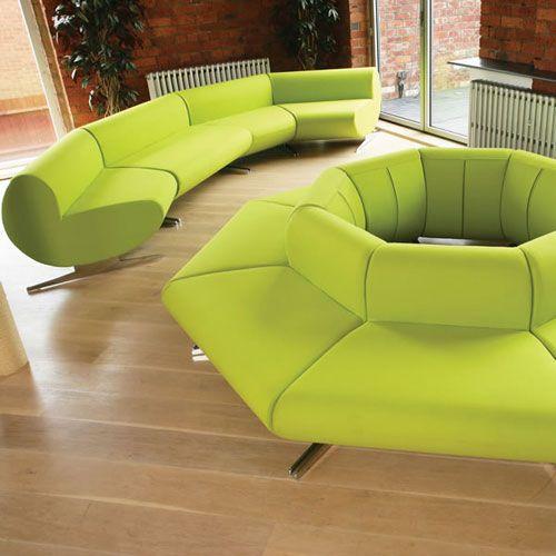 O Cee Modular Reception Sofa Convex Seating Waiting