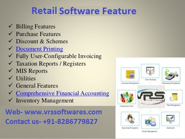 Pin by VRS Software on Retail Software | Retail software