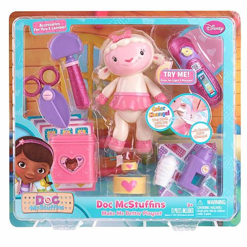 """Doc McStuffins Make Me Better Playset - Lambie - Just Play - Toys """"R"""" Us"""
