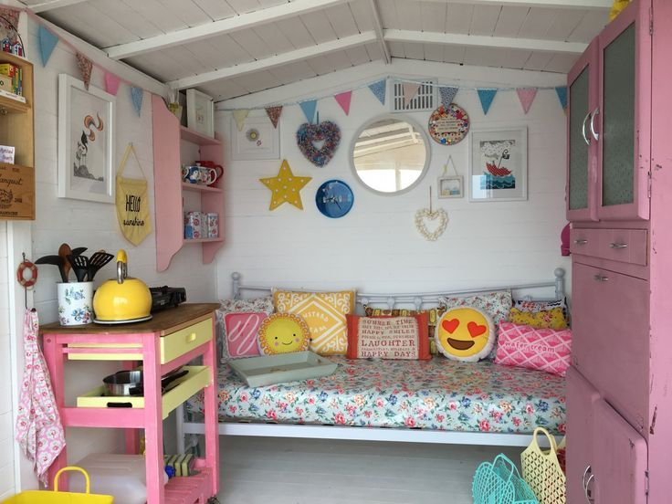 hut interior | Beach hut interior, Beach huts and Norfolk