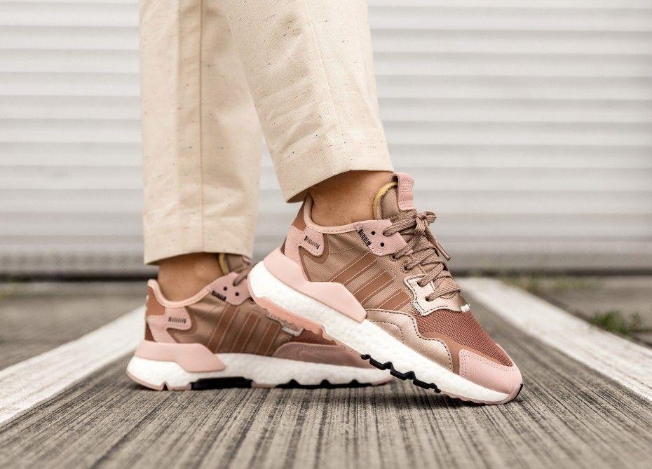 adidas nite jogger femme rose