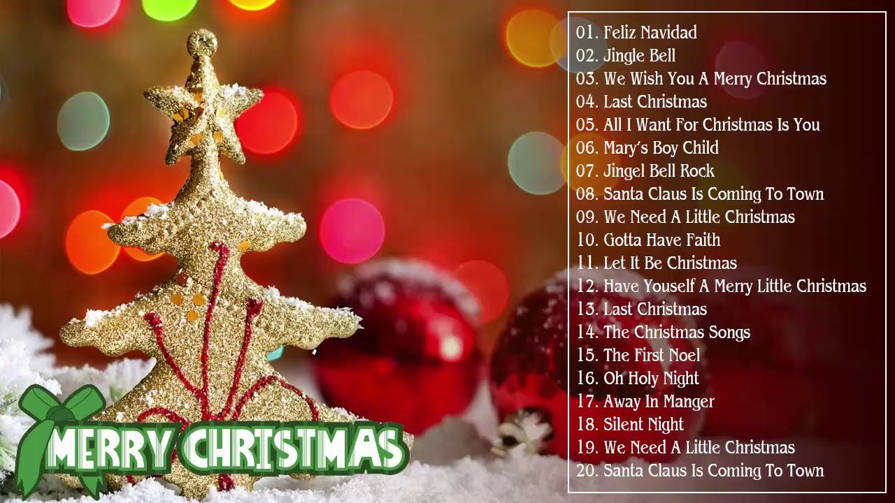 Top Christmas Songs.Merry Christmas 2019 Top Christmas Songs Playlist 2019