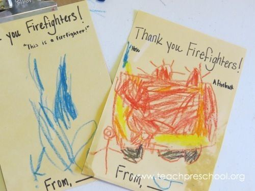 Writing Thank You Notes  Note Preschool And Writing