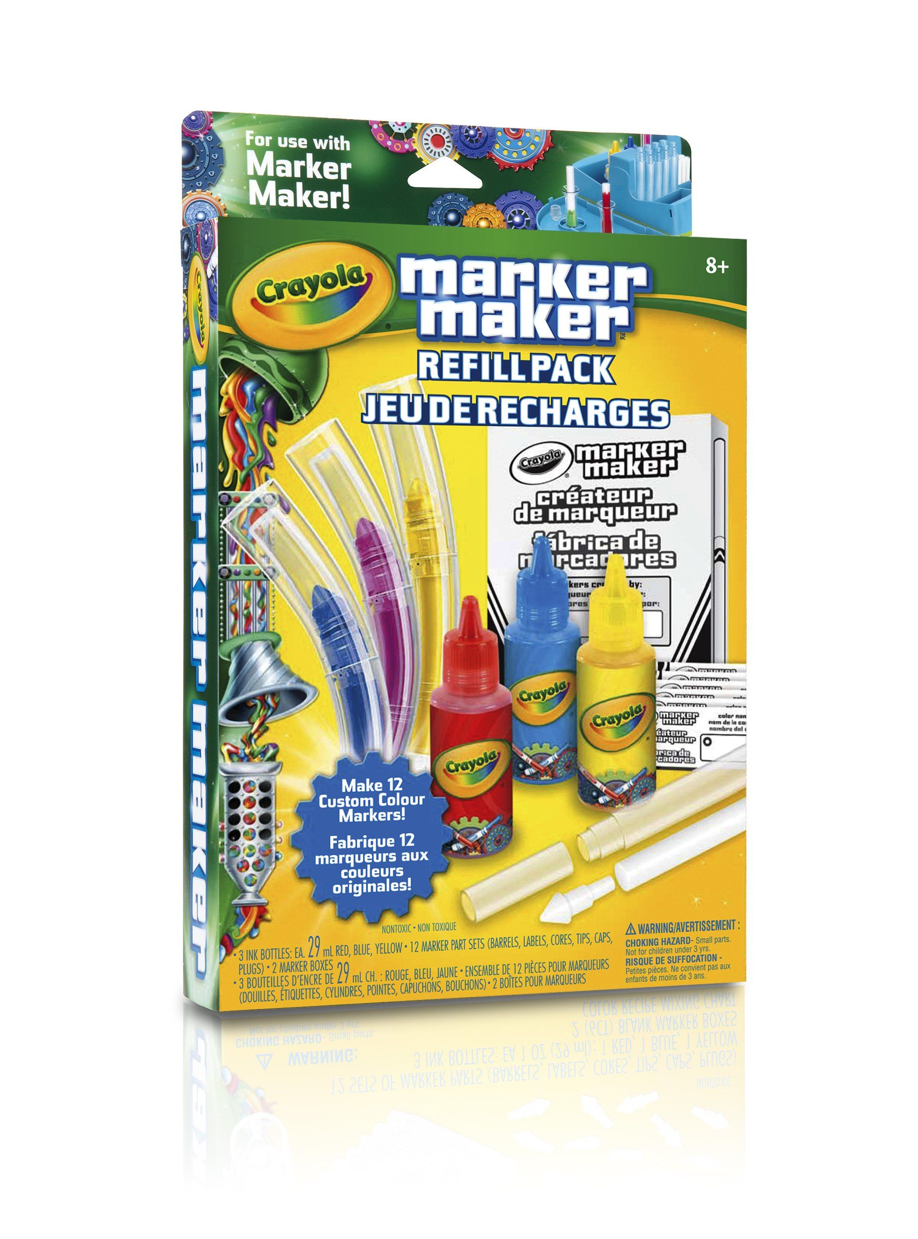 Crayola Marker Maker Refill Pack Cores Red Blue