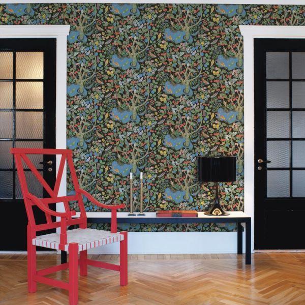 Anno 1905 12924 Kunst-Tapete Josef Frank klassische Moderne Flora