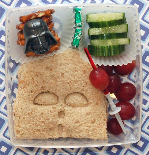 92 food ideas for party lunch boxes these cute paper sandwich star wars party lunch idea forumfinder Gallery