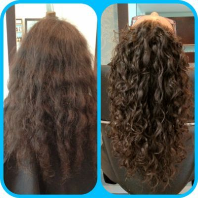 permanent waves before and after permanentes pinterest cheveux cheveux couleur ombr e et. Black Bedroom Furniture Sets. Home Design Ideas