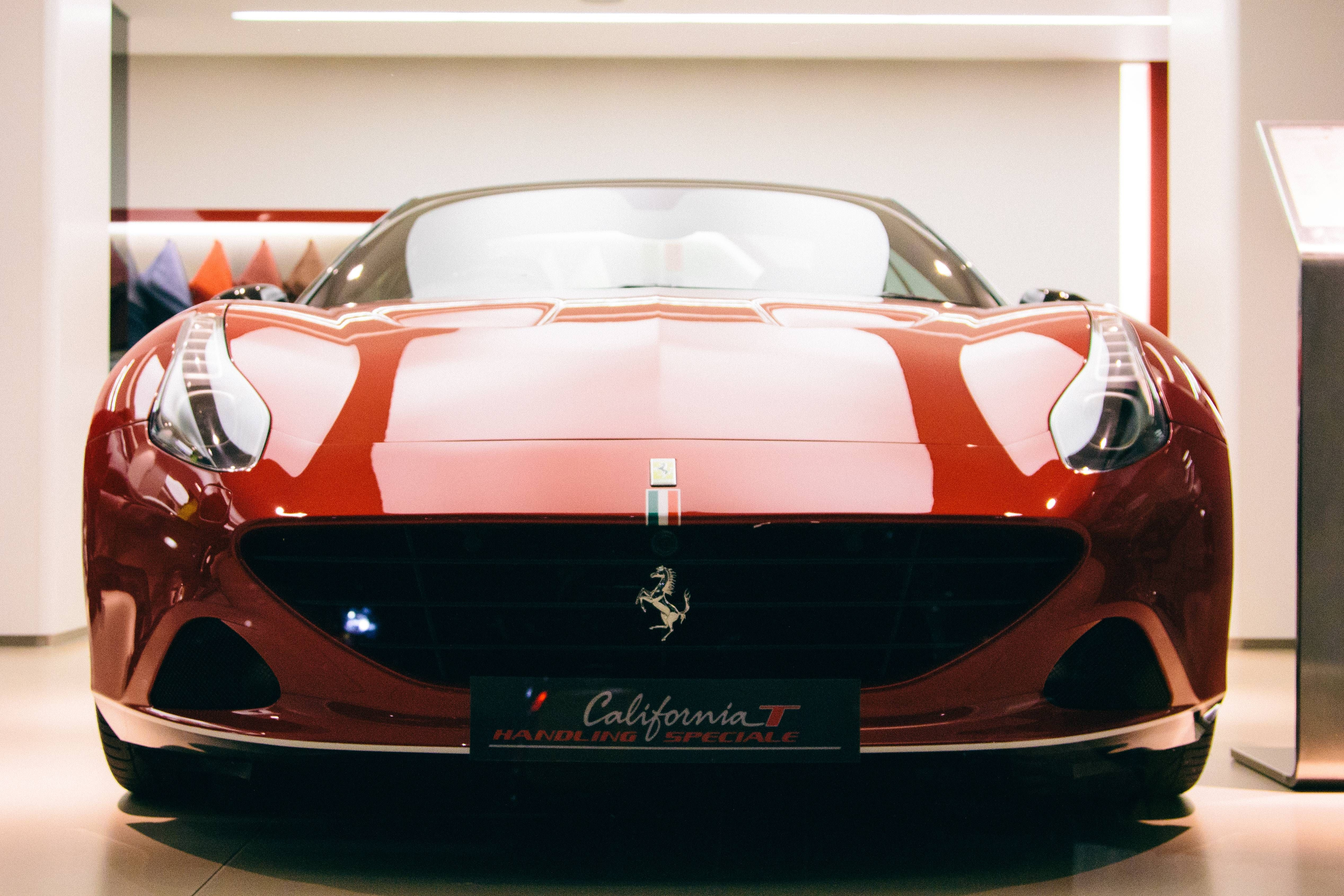 Shiny Ferrari California T Hs At H R Owen Ferrari In London