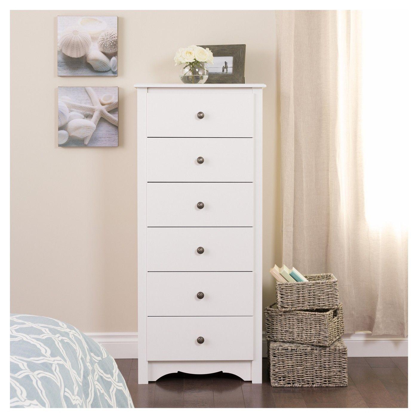 Monterey Vertical Dresser White Prepac Cosas De Dormitorio Mueble Para Ropa Muebles De Lujo [ 1400 x 1400 Pixel ]