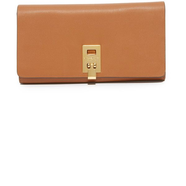 1cc3be70964b Michael Kors Collection Miranda Continental Wallet ($395) ❤ liked on  Polyvore featuring bags,