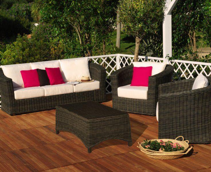 Qu os parece este conjunto de muebles de jardin - Conjunto jardin aki ...