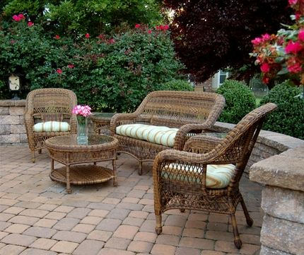 cool Epic Wicker Patio Furniture 73 With Additional Small Home Decor ...
