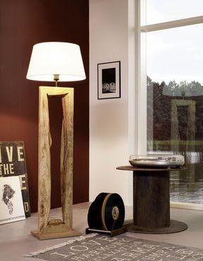 Eglo Vintage Ribadeo Stehleuchte, Holz #Beleuchtung #Leuchte #Lampe ...