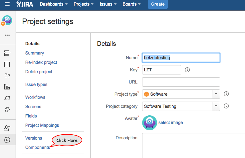 How To Create A Project Component In Jira Business Motivation Projects Agile Project Management