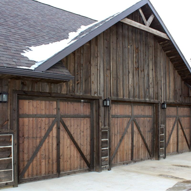 All over montana you can find great old barns with great for Best wood for board and batten siding