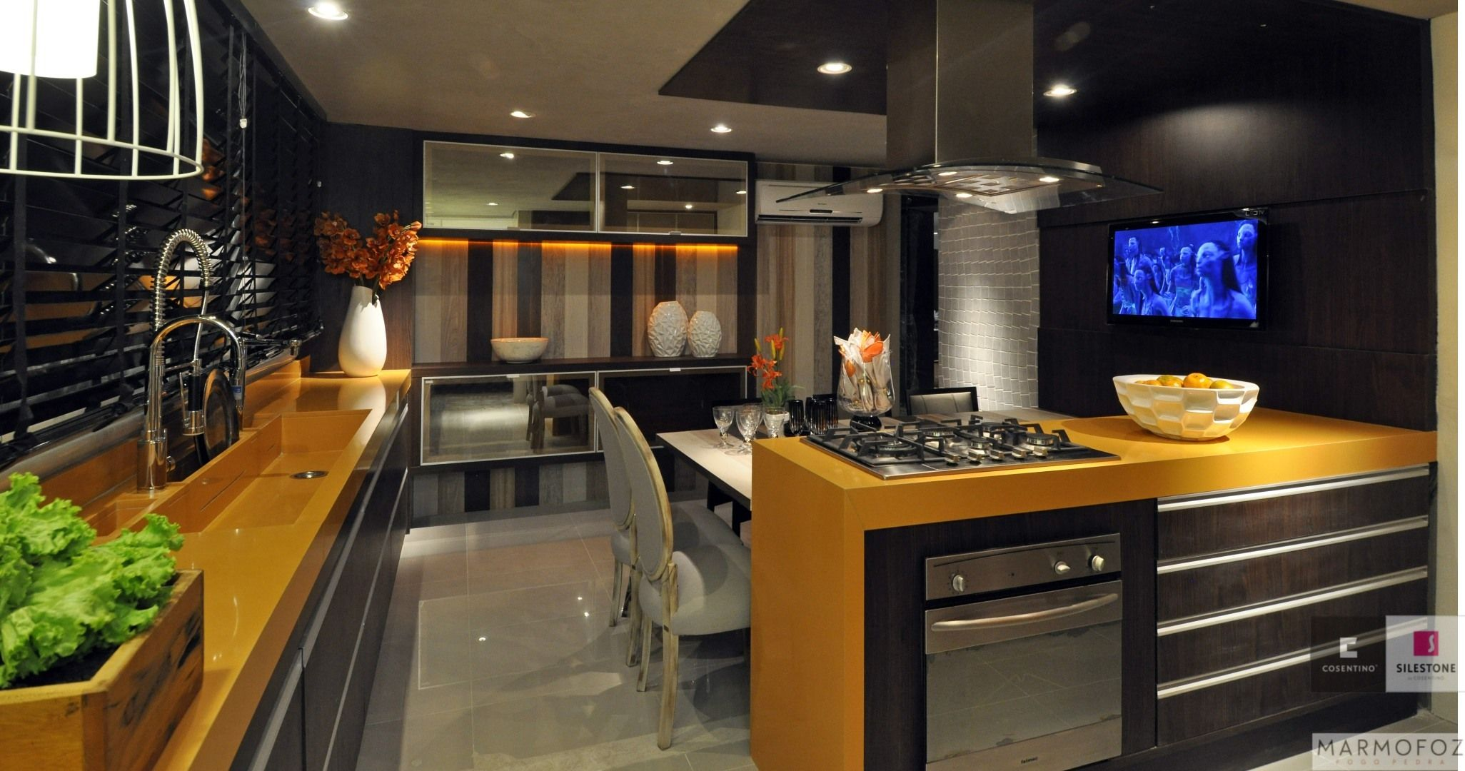 Bancadas de silestone amarelo pesquisa google cozinhas - Bancadas de cocina ...
