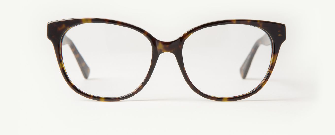 The Bevy Havana tortoise glasses are a women\'s oval frame with a ...