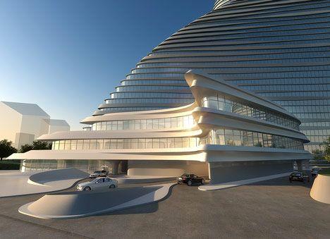 Wangjing Soho by Zaha Hadid Architects [Zaha Hadid: http://futuristicnews.com/tag/zaha-hadid/]