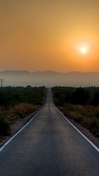 Open Road Wallpaper Collection For Iphone Series One 14