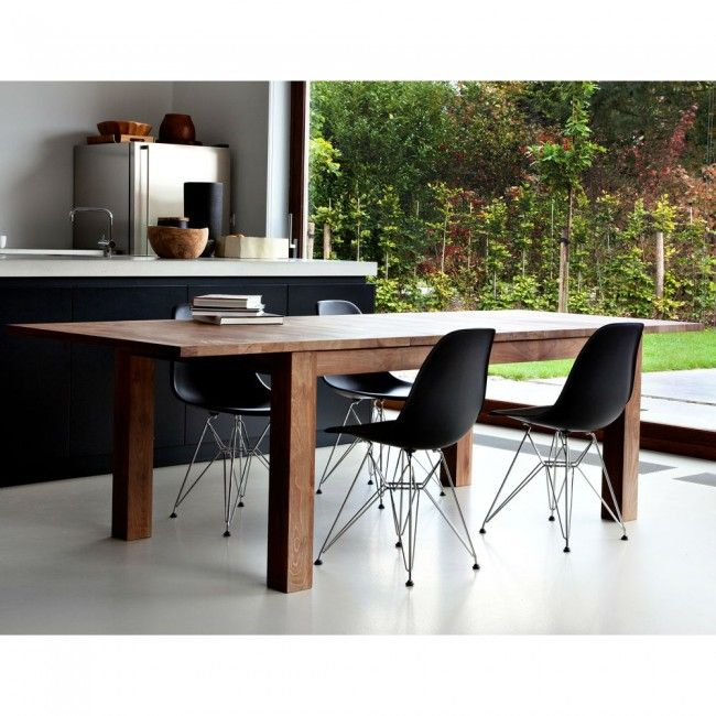 Ethnicraft Stretch Extension Dining Table By
