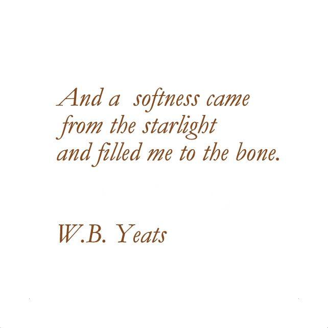 wb yeats writing style