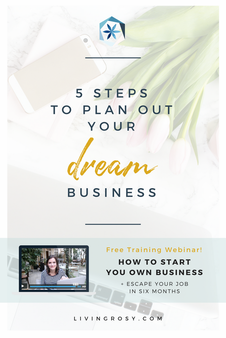 5 Steps to Plan Out Your Dream Business | Entrepreneur ideas ...