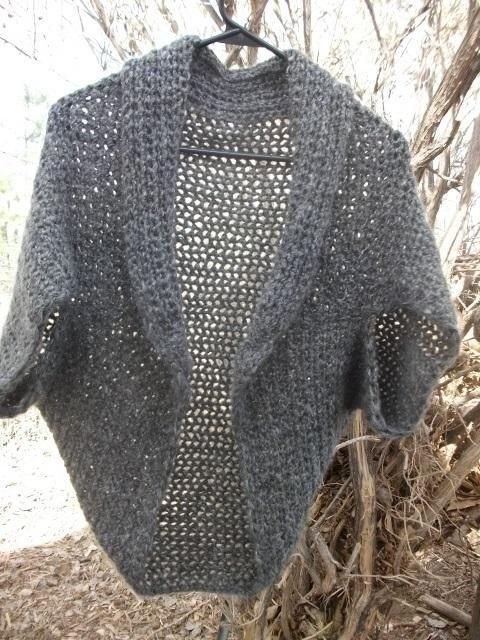 Fast And Easy Cozy Shrug Small To 6x Crochet Easy Crochet Shrug