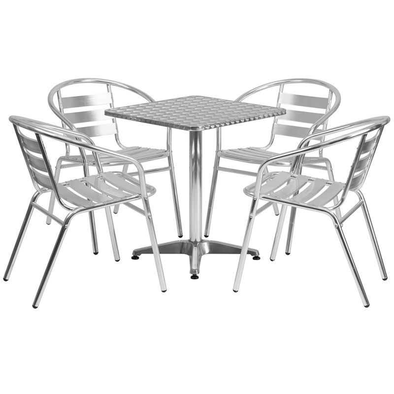 square-aluminum-indoor-outdoor-table-with-4-slat-back-chairs