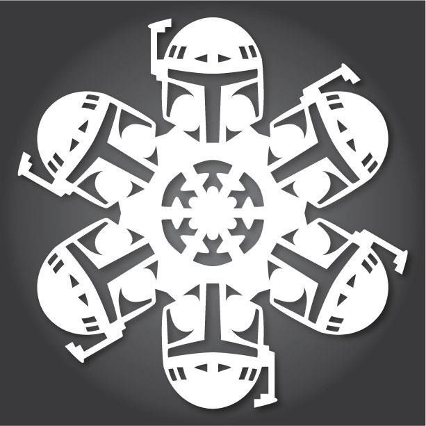 how to 60 free paper snowflake templatesstar wars style