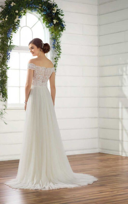 Breezy Beach Wedding Dress
