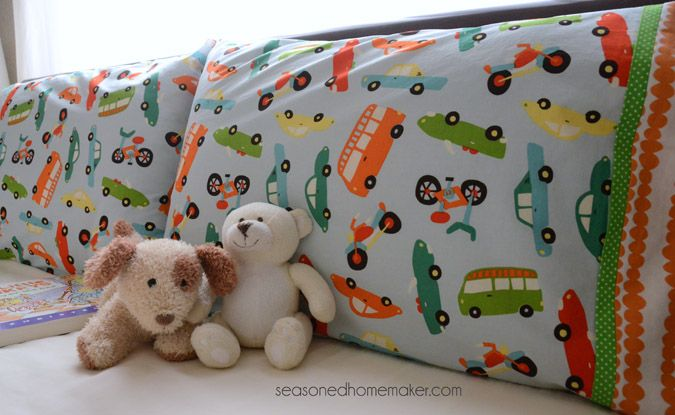 Making Pillowcases Alluring How To Sew A Pillowcase  Burrito Style  Pillowcase Pattern Review