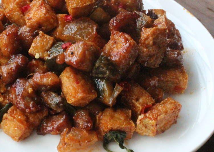 辣味皮蛋臭豆腐雞米花   Recette   Nourriture