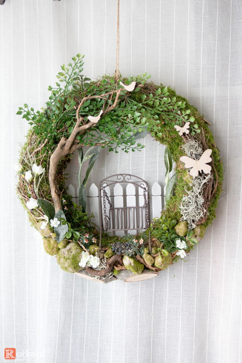 Excellent Pictures Spring Wreath craft Thoughts In case you are directly into creating DIY early sp