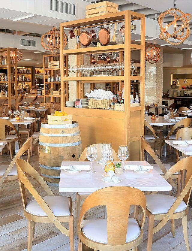 Modern Rustic Italian Restaurant In Naples Florida Caffe