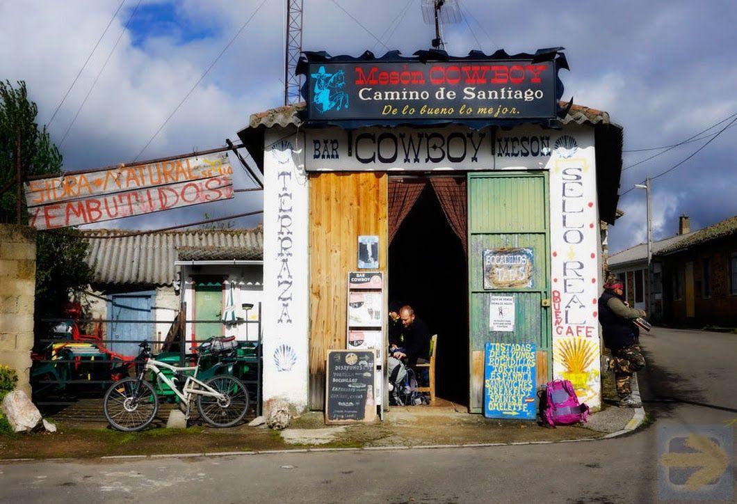 Meson Cowboy El Ganso Camino De Santiago Google Camino De Santiago Santiago De Compostela Y Camino