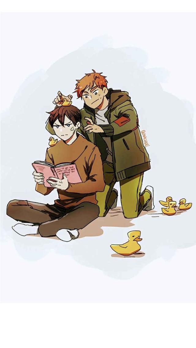 I Love Yoo Kousuke and YeomgGi Webtoon comics, Webtoon