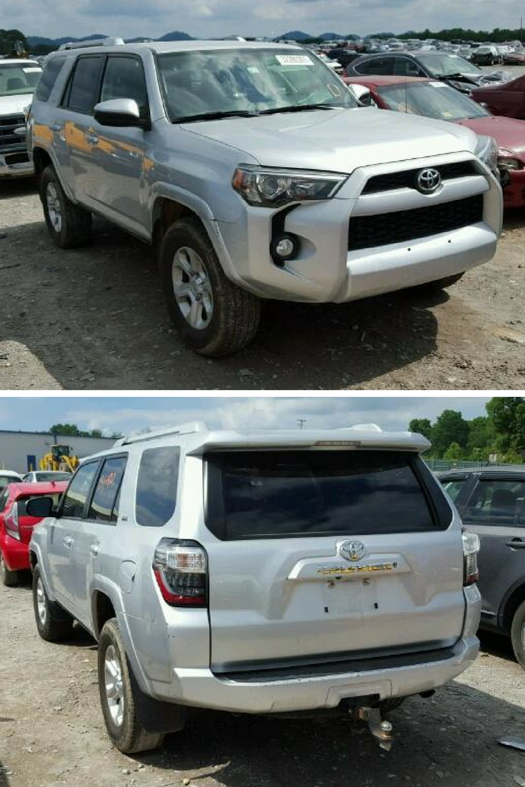 Bid On This 2014 Toyota 4 Runner With Only Minor Dent Scratches