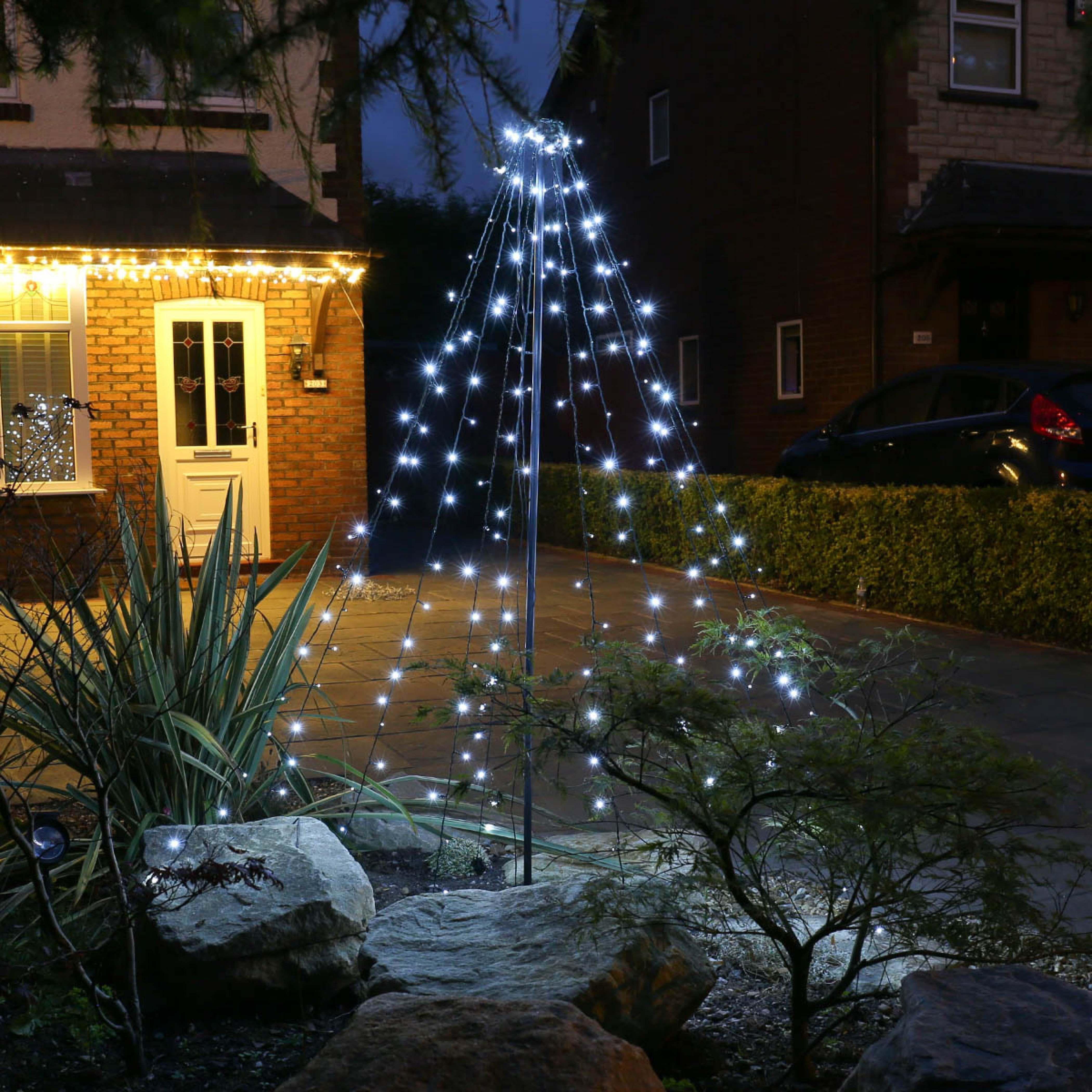 Günstige Weihnachtsbeleuchtung Aussen.Led Weihnachtsbeleuchtung Walmart Outdoor Weihnachten Kleine