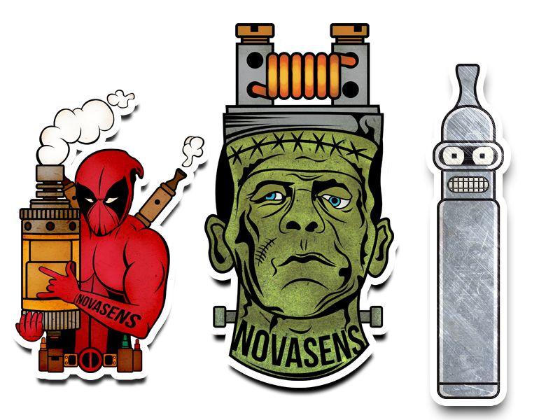 Vape Stickers By Anton Yeroma Vape Stickers Vaper Vaping Vapestickers Logovape