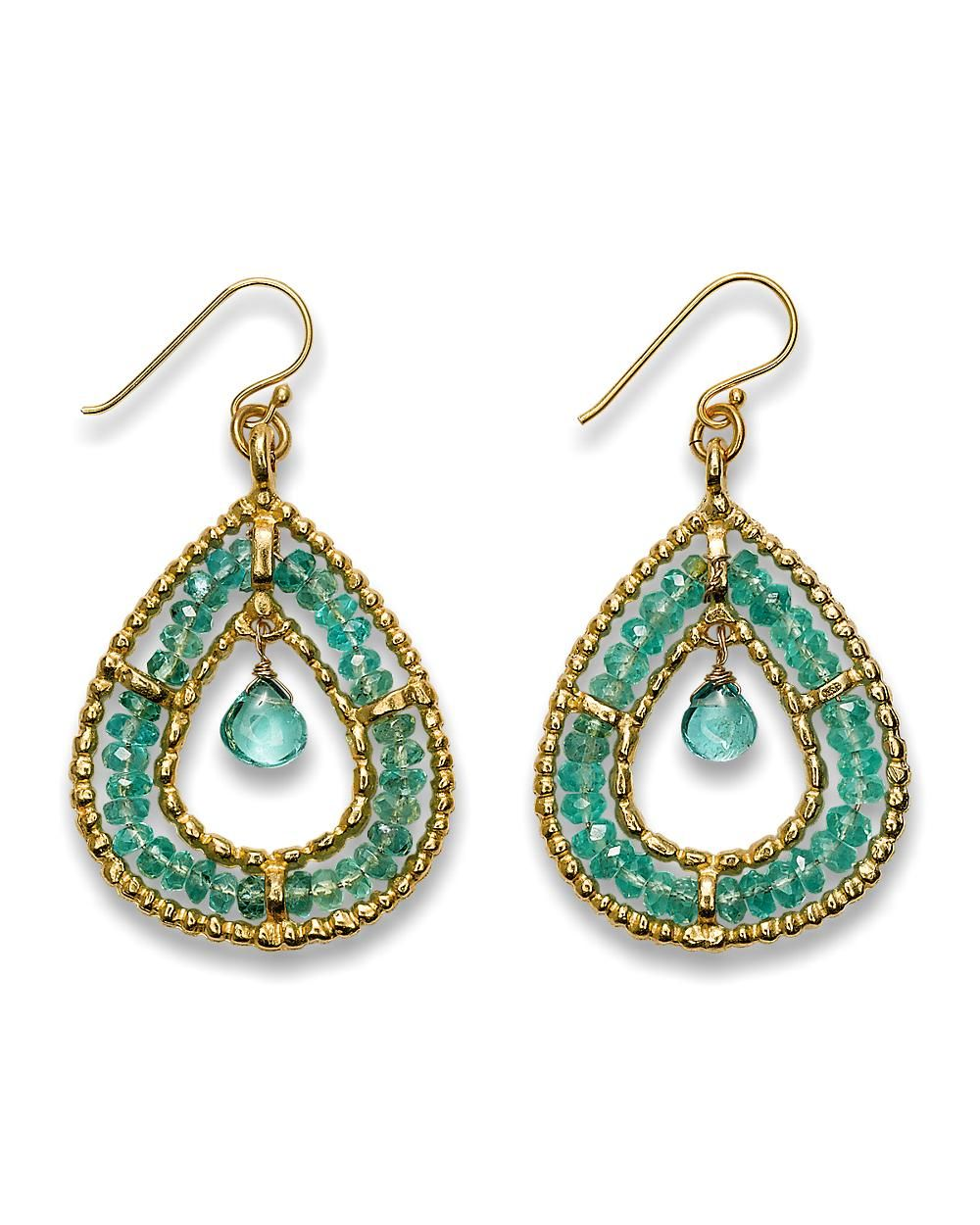 Tommy Bahama Apatite Teardrop Earrings