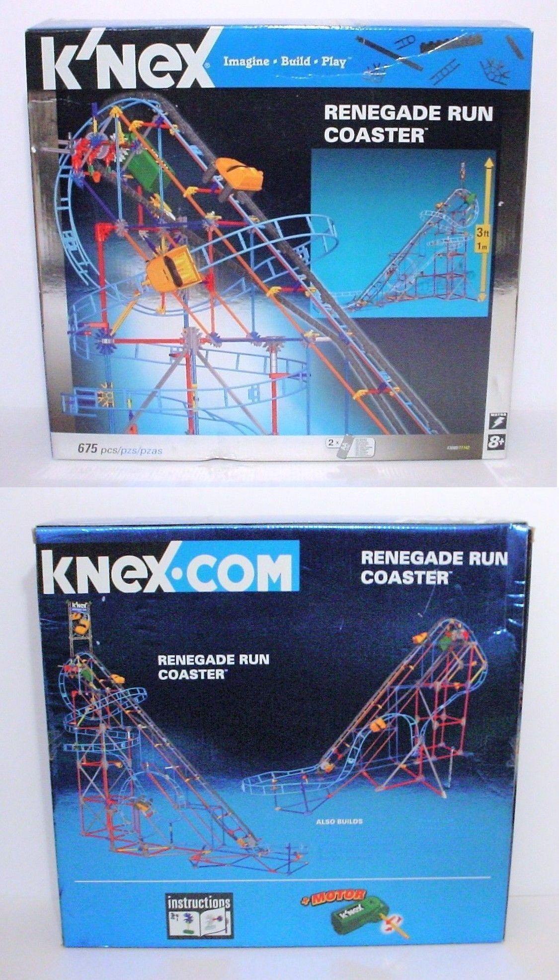 Knex Building Toys 21254 K Nex Renegade Run Motorized Roller