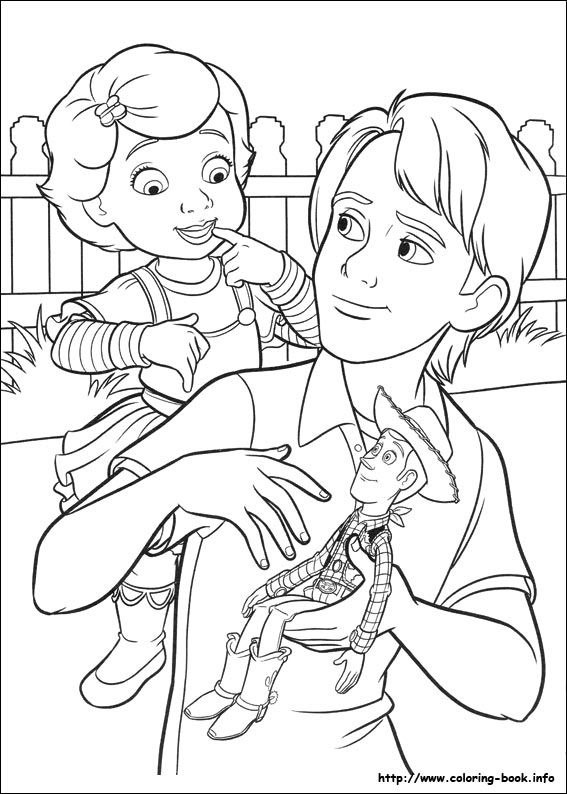 Toy Story 3 Coloring Picture Toy Story Coloring Pages Cool