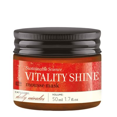 50f83d5b497f Phenome   Produkty   Momenty   Daily Miracles   Sustainable Science    VITALITY SHINE mousse mask