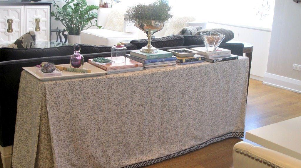 Skirted Tables   So Haute Design Blog By Nicole Gibbons