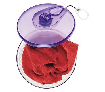 Use a salad spinner to hand wash clothes in the sink.